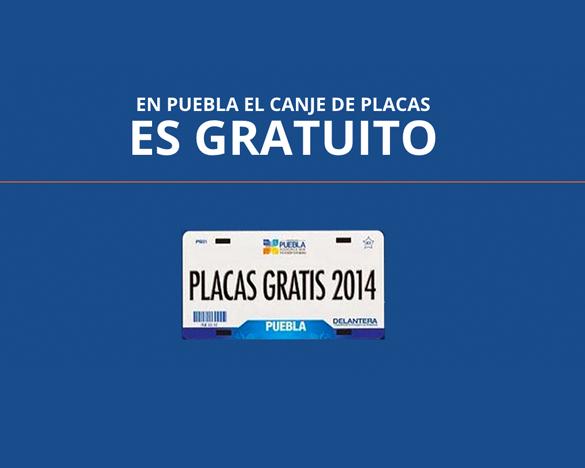 Cambio de Placas en Puebla