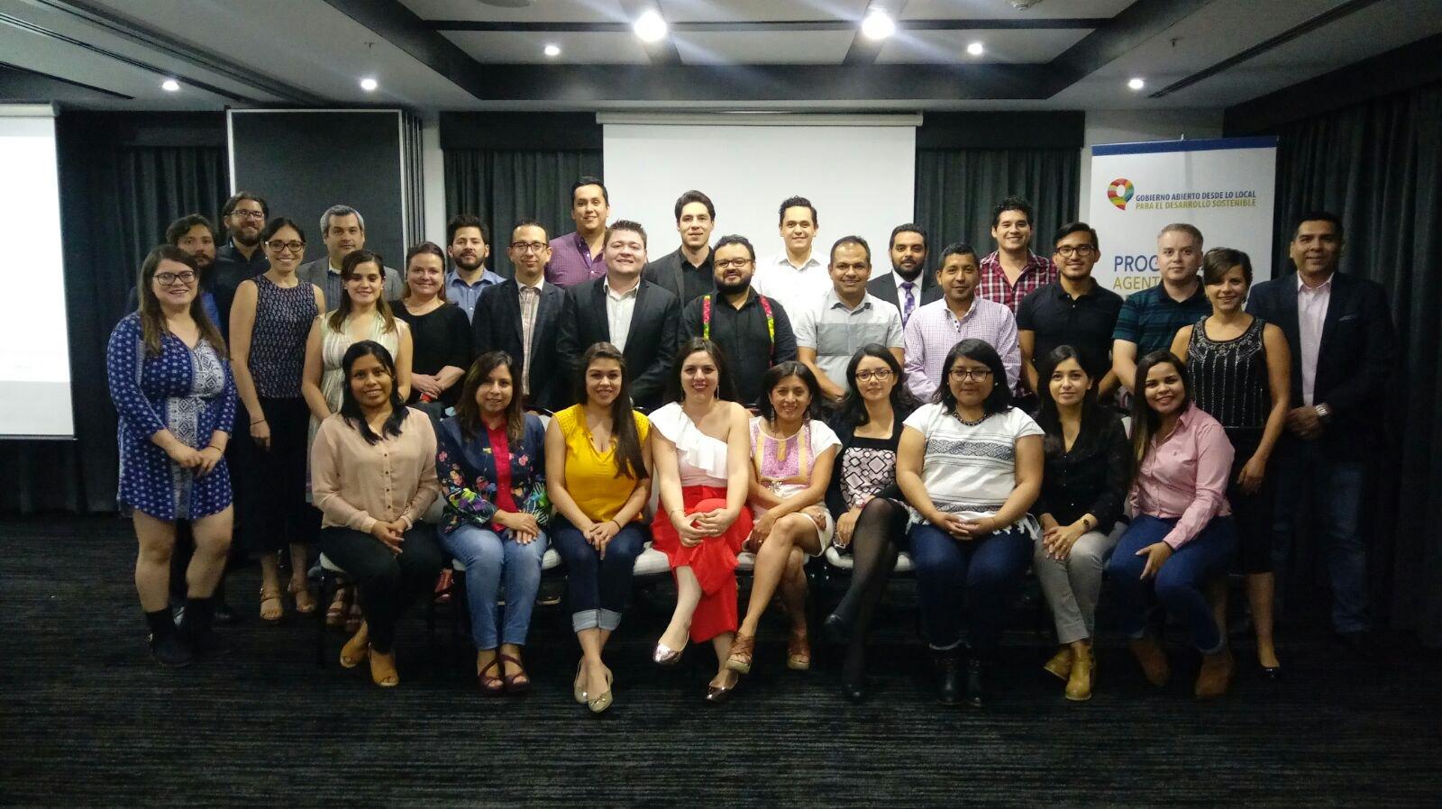 Seminario 1 del Programa de Formación de Agentes Locales de Cambio en Gobierno Abierto y Desarrollo Sostenibles