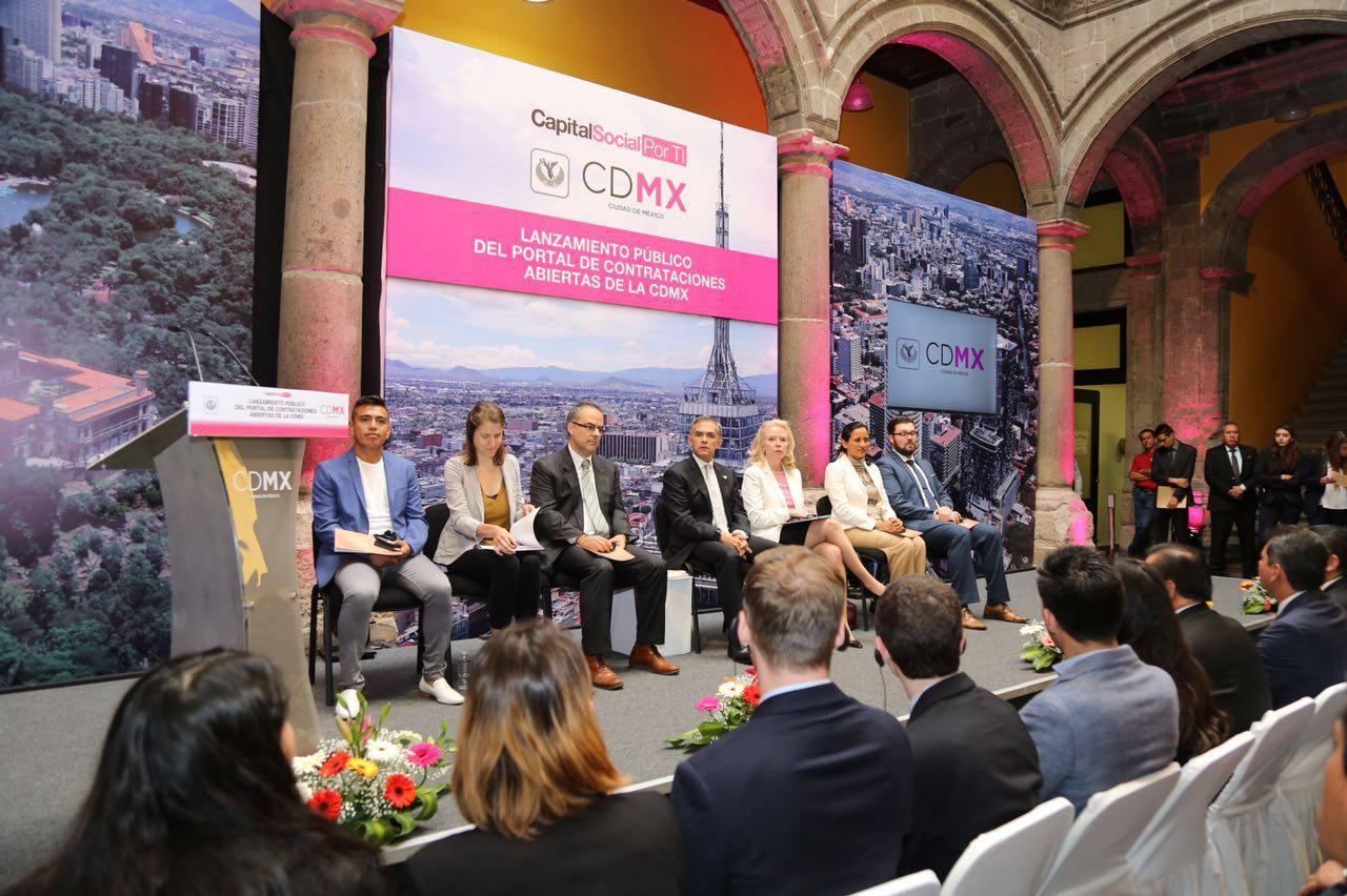 Contrataciones Abiertas de la CDMX: Lanzamiento