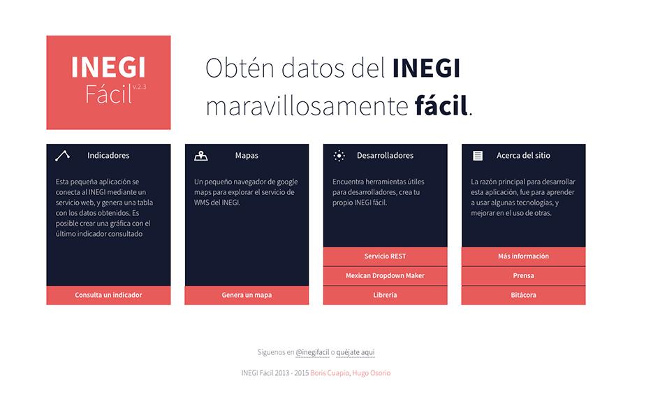 INEGI Fácil